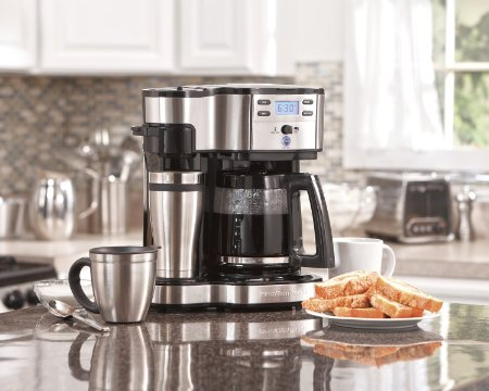Hamilton Beach 49980A 2-Way Single Serve Brewer Coffee Maker