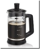 hamilton beach french press coffee grinder